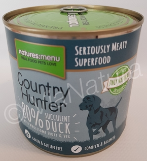 NATURES MENU COUNTRY HUNTER DUCK (600 GRAM)