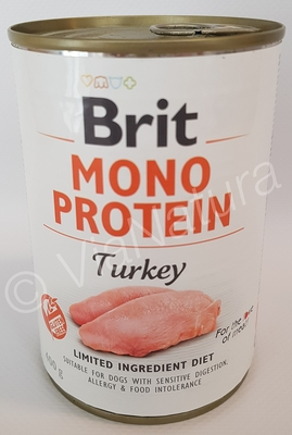 BRIT MONO PROTEIN TURKEY (400 GRAM)