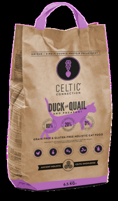 CELTIC CONNECTION CAT DUCK WITH QUAIL AND PHEASANT (6,5 KG)